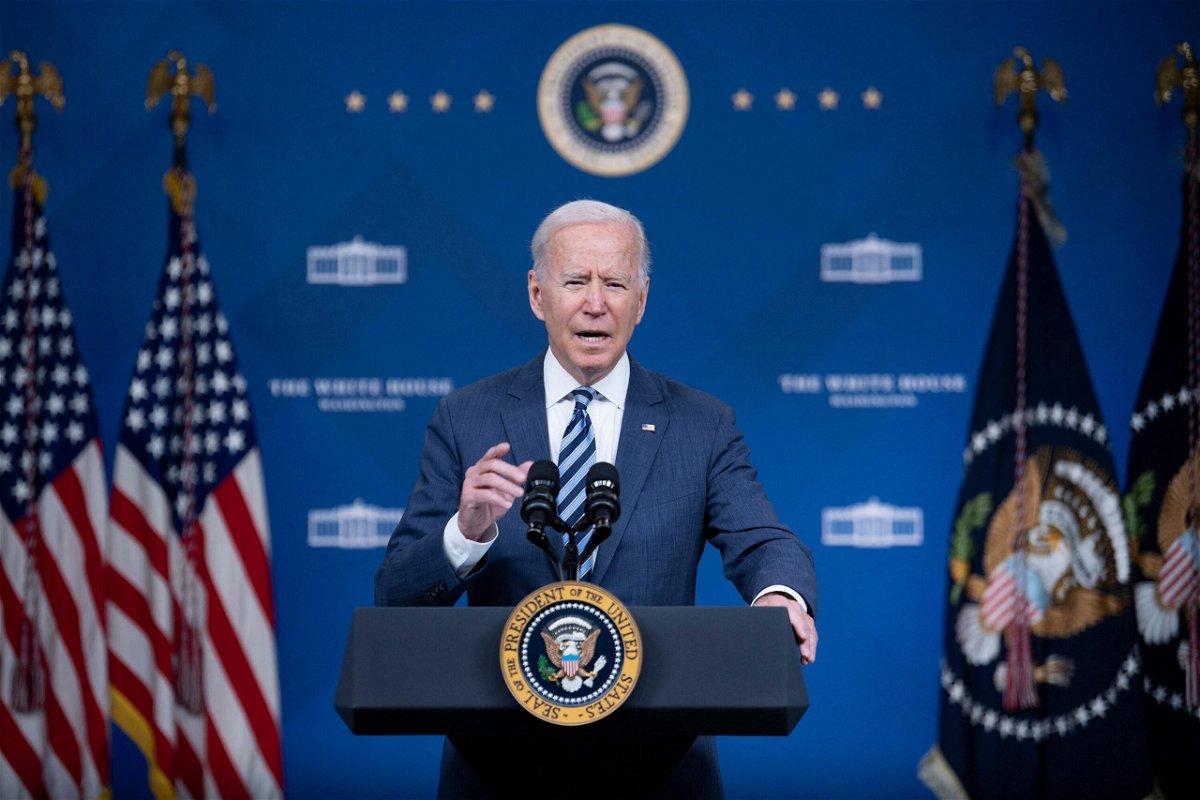 <i>Brendan Smialowski/AFP/Getty Images</i><br/>President Joe Biden