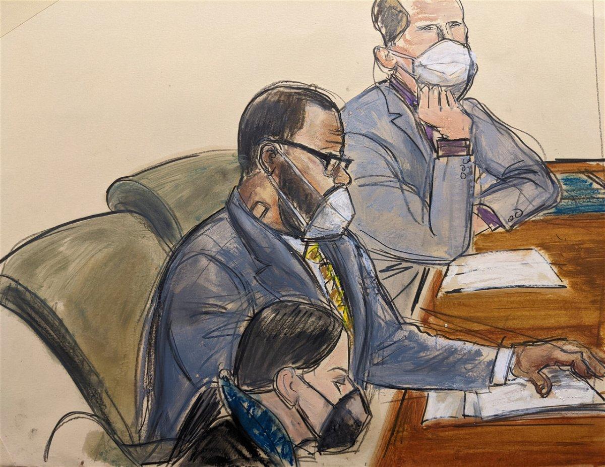 <i>Elizabeth Williams/AP</i><br/>In this courtroom sketch