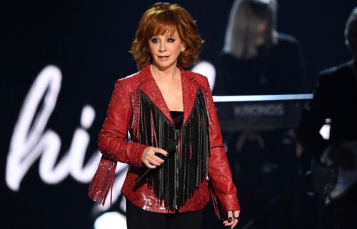Reba McEntire expressed gratitude to the fire and police departments in Atoka