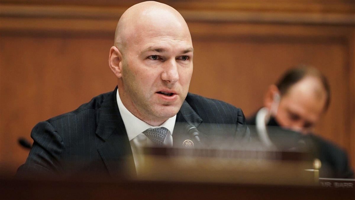<i>GREG NASH/POOL/AFP via Getty Images</i><br/>Rep. Anthony Gonzalez of Ohio