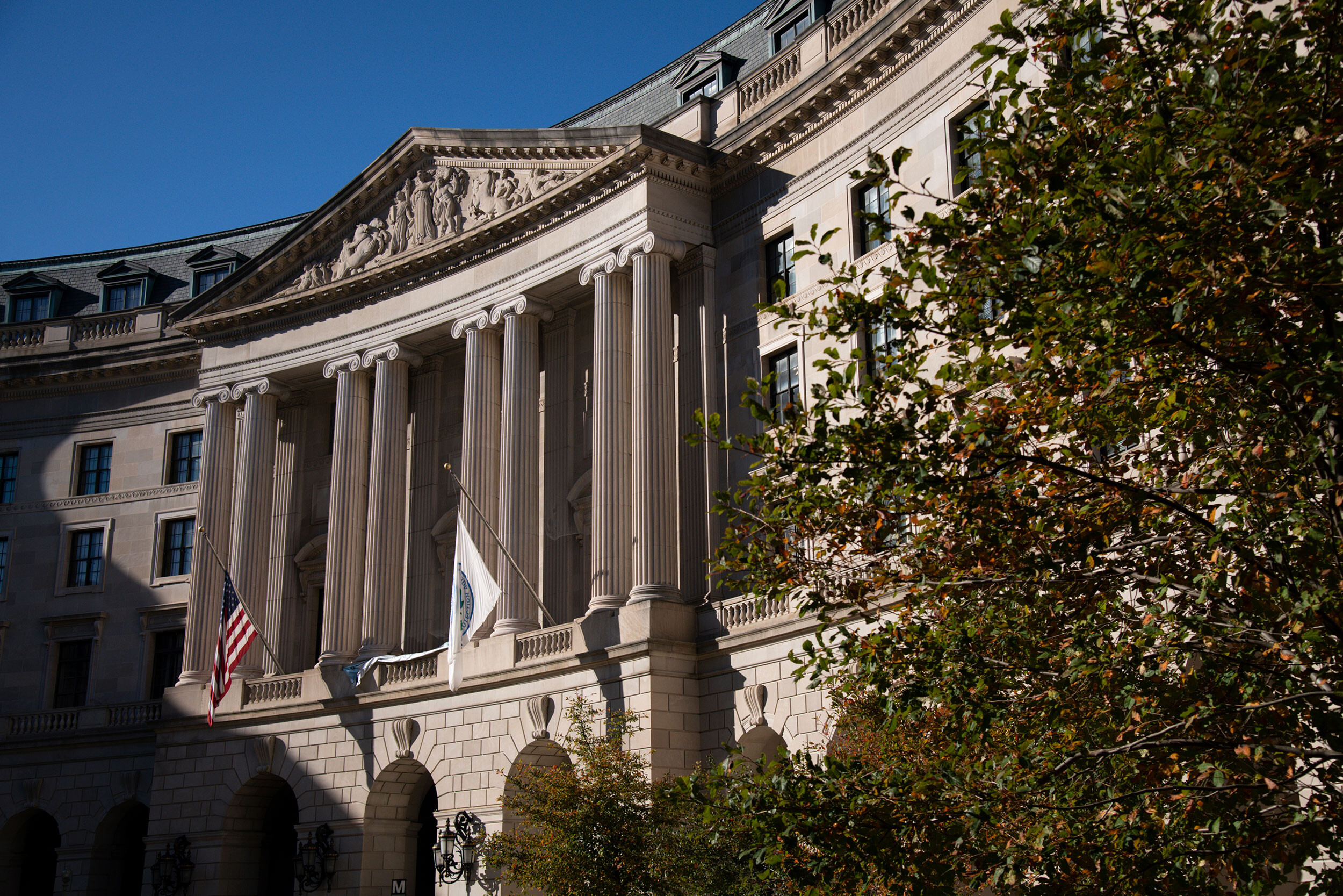 <i>Graeme Sloan/Sipa USA/AP</i><br/>A general view of the Environmental Protection Agency building in Washington