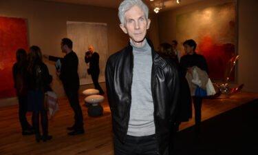 Fashion editor Richard Buckley