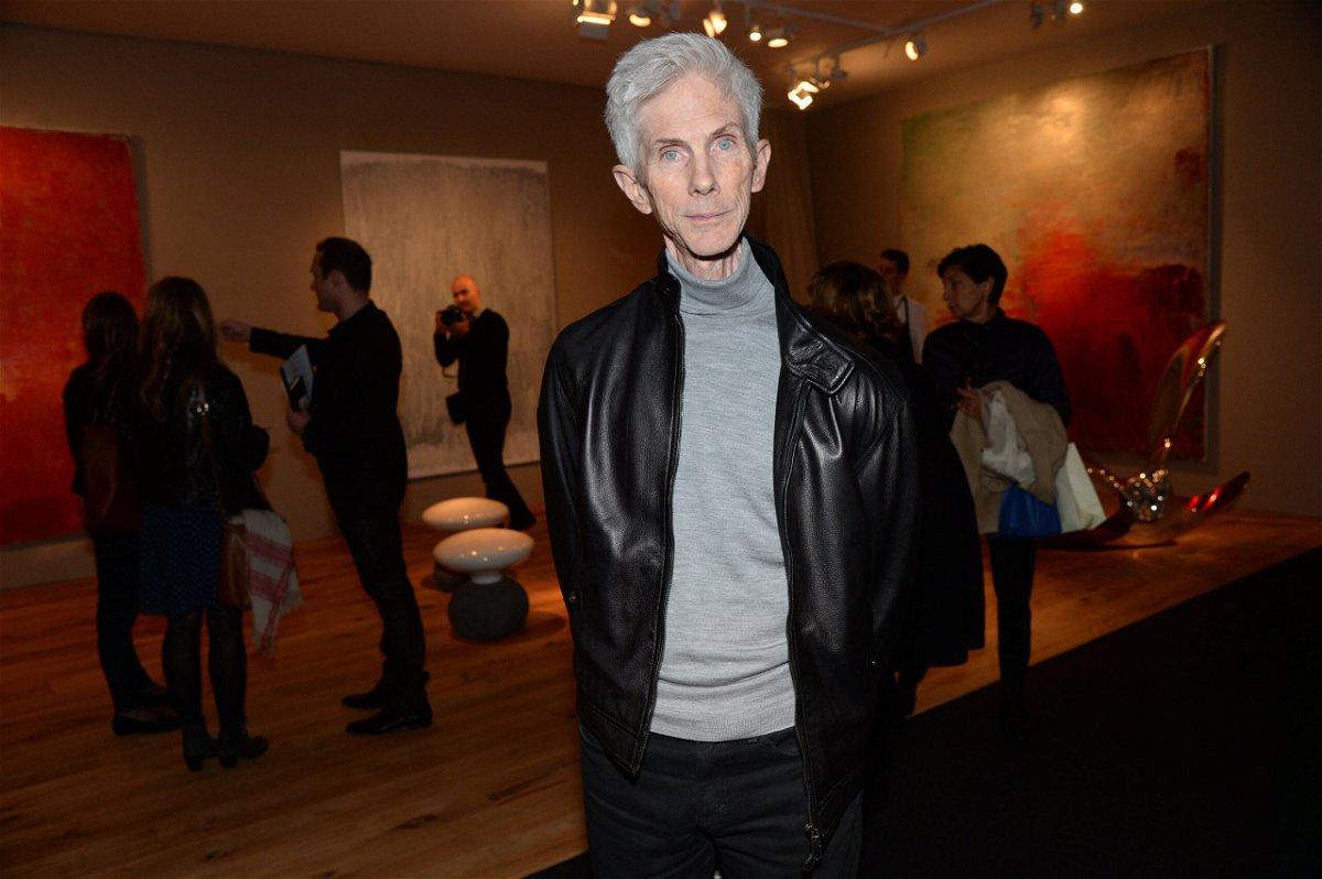 <i>Richard Young/Shutterstock</i><br/>Fashion editor Richard Buckley