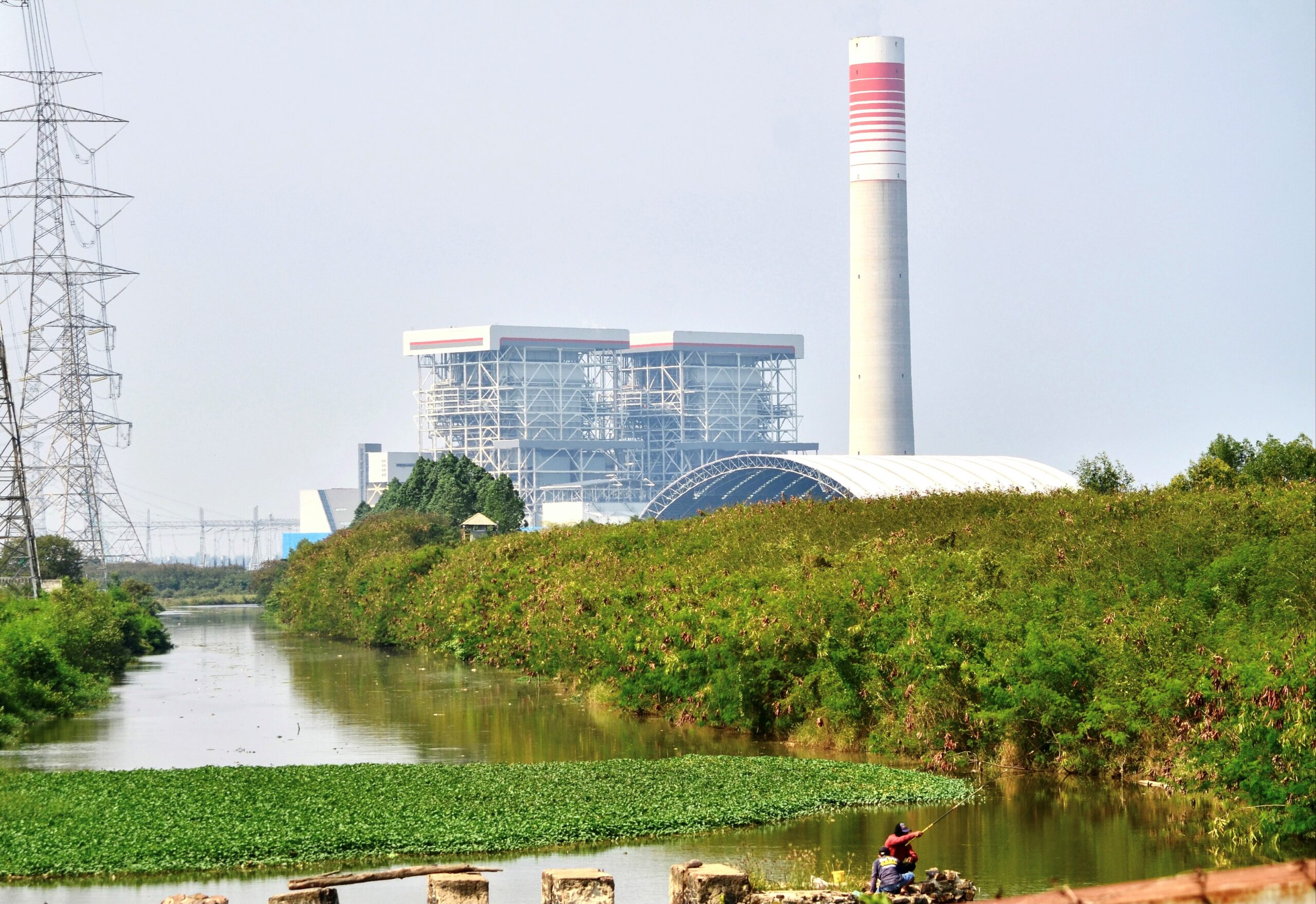 <i>Ronald Siagian/AFP/Getty Images</i><br/>The Java 7 power plant in Serang