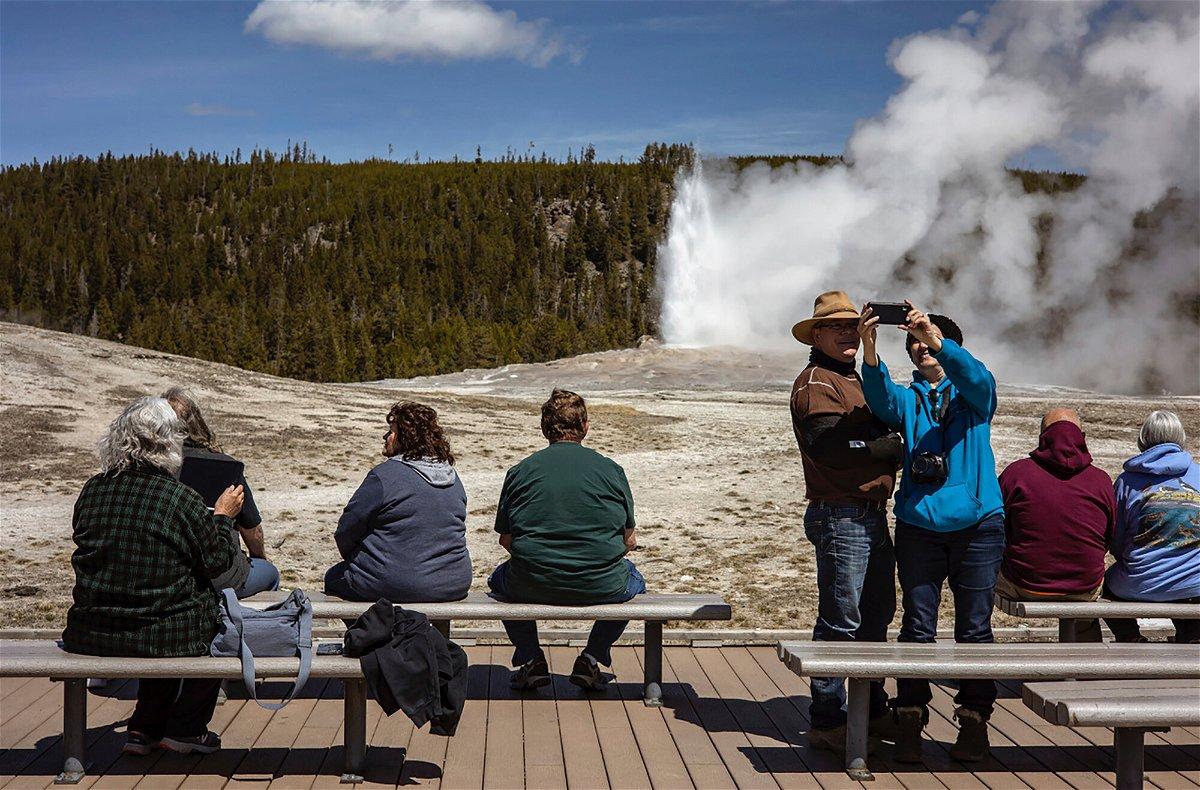 <i>Kayla Renie/Jackson Hole News & Guide/AP</i><br/>Yellowstone Park