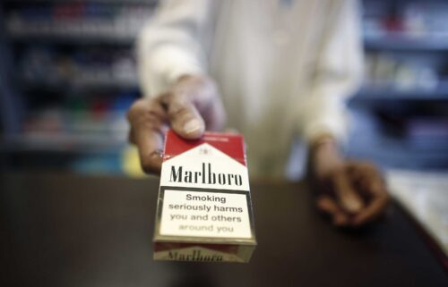 Cigarette giant Philip Morris International has taken control of UK inhaler maker Vectura. A packet of Marlboro cigarettes is being sold in London.
