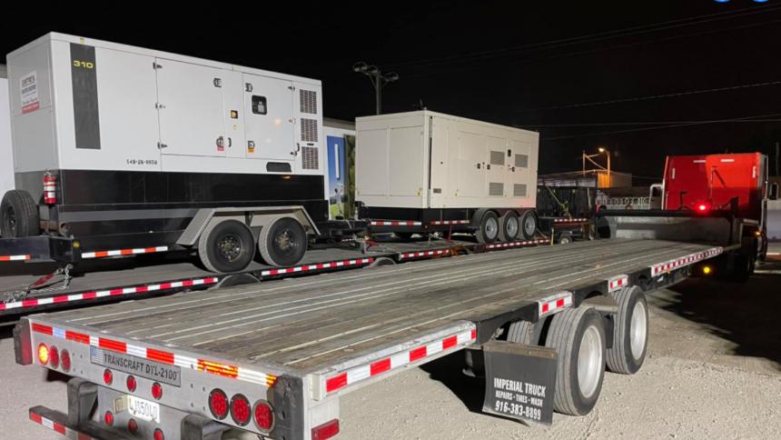 santa barbara company sends generators to hurricane ida 1