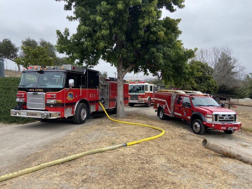 Arroyo Grande fire