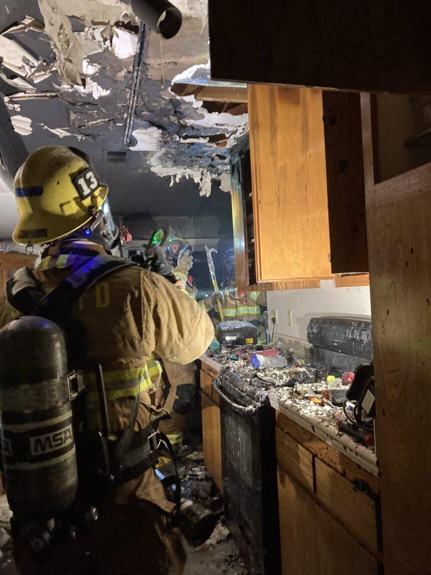 goleta valley kitchen fire 1