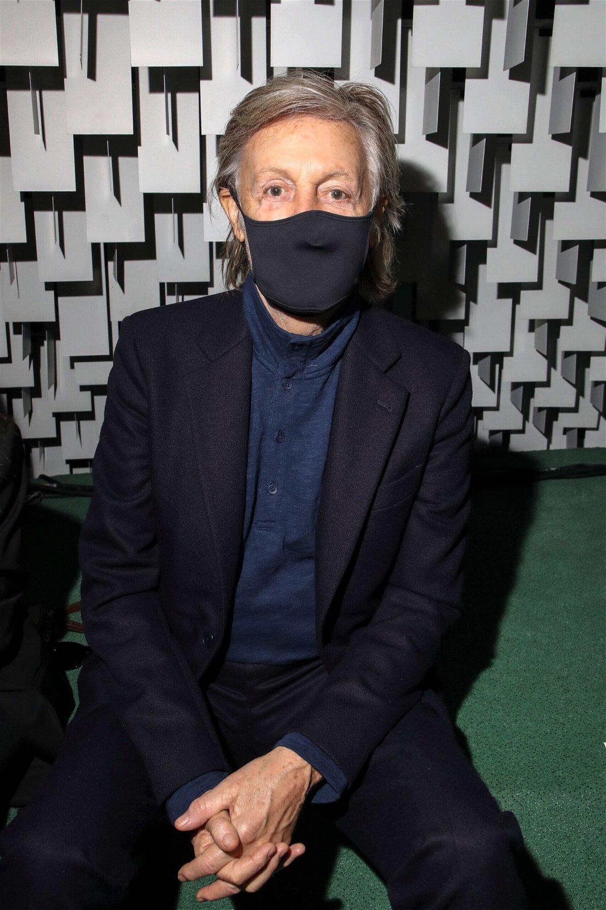 <i>Vianney Le Caer/Invision/AP</i><br/>Beatles legend Paul McCartney has dubbed the Rolling Stones