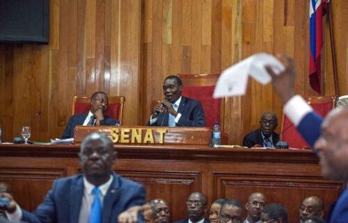 Haiti's Senate leader Joseph Lambert has joined calls for embattled Prime Minister Ariel Henry to resign.