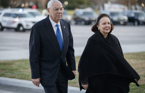 Former Secretary of State Colin Powell has said the greatest person he's ever known is his wife