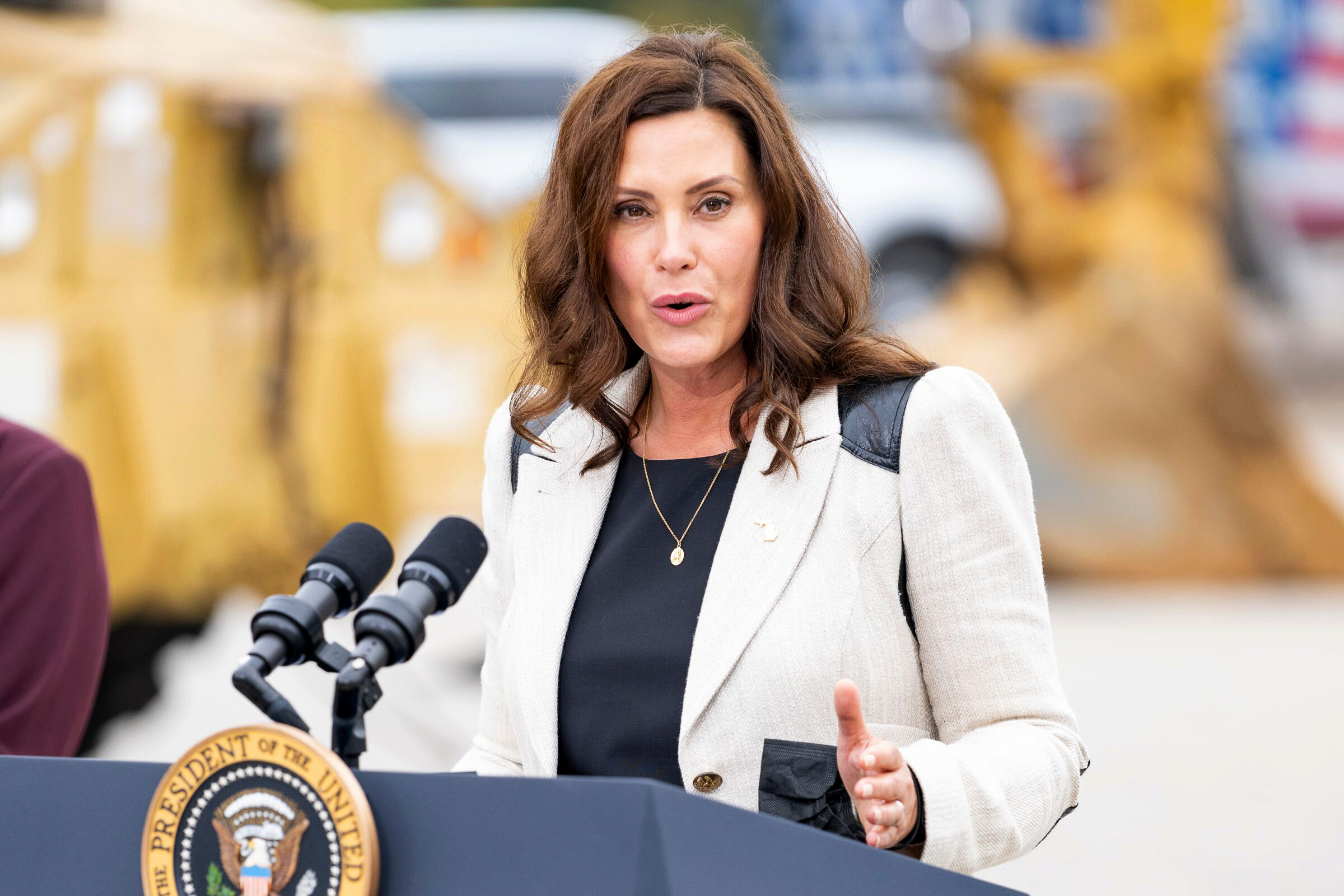 <i>Dominick Sokotoff/Shutterstock</i><br/>Michigan Gov. Gretchen Whitmer signed an executive directive on October 14 designed to help residents of Benton Harbor get access to safe drinking water amid concerns about unsafe levels of lead in its water system.