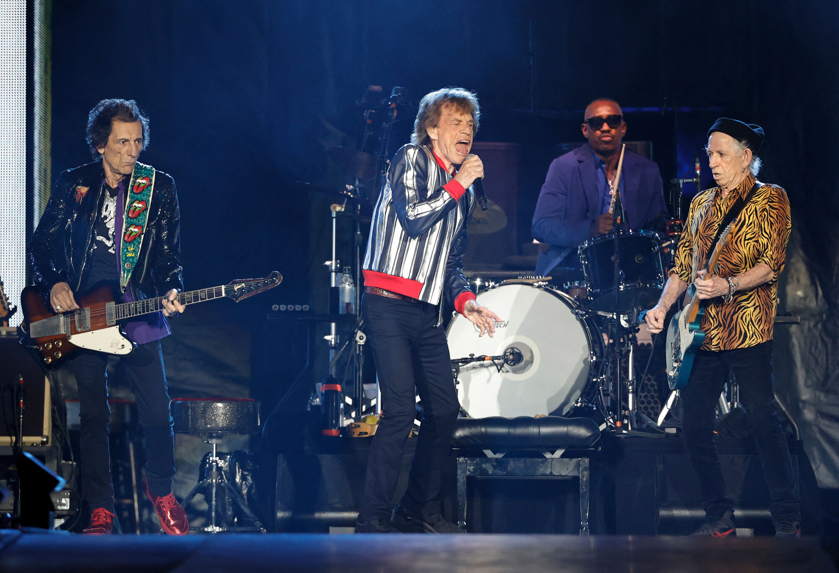 <i>Kamil Krzaczynski/AFP/Getty Images</i><br/>The Rolling Stones preform on September 26