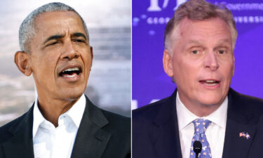 Former President Barack Obama speaks direct to camera in a new ad for Virginia Democratic gubernatorial nominee Terry McAuliffe