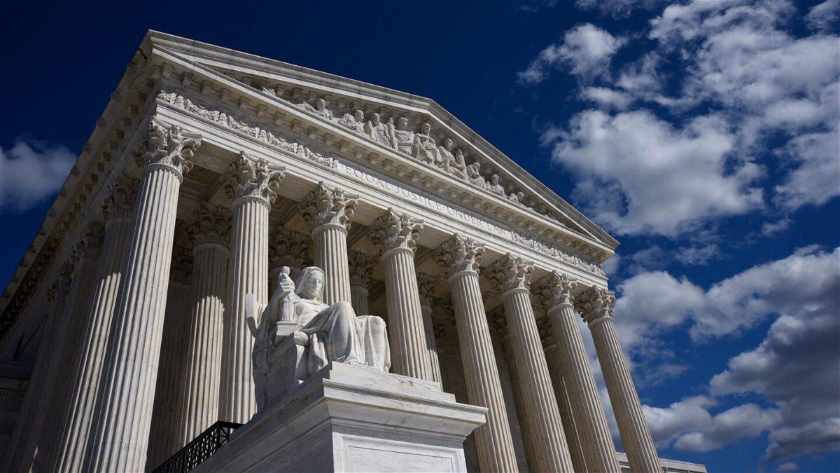 <i>Robert Alexander/Getty Images</i><br/>the U.S. Supreme Court Building in Washington